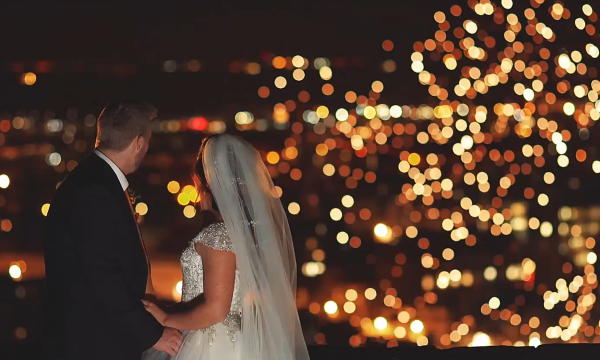 Nat & Dan Edinburgh Castle Wedding Film Edinburgh Fireworks