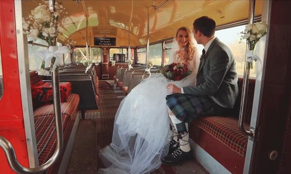 Natalie & Alistair Carlowrie Castle Wedding Film Video