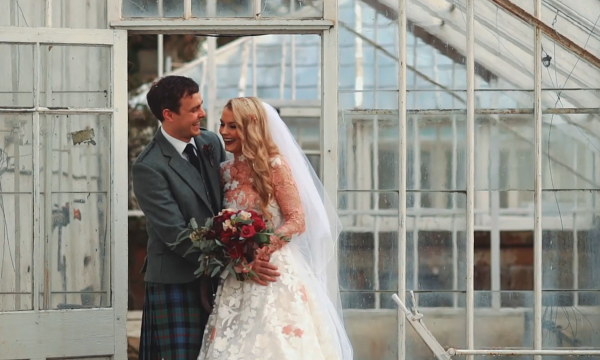 Natalie & Alistair Carlowrie Castle Wedding Video Edinburgh
