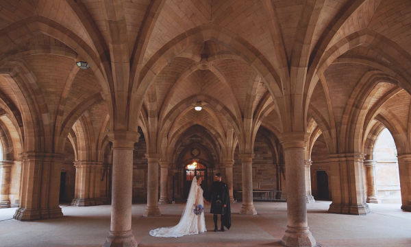 Sam & William Glasgow University Wedding Videographer Glasgow