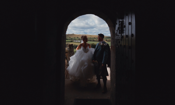 Zena & Scott Borthwick Castle Wedding Film Video Edinburgh