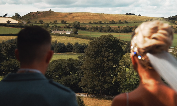 Zena & Scott Borthwick Castle Wedding Video