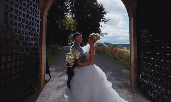 Zena & Scott Borthwick Castle Wedding Video Edinburgh