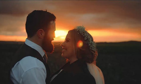 Cow Shed Wedding Video Film Crail Catherine Duncan