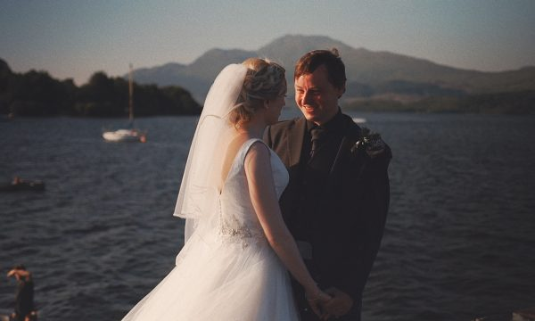 Geri & Ross Lodge on Loch Lomond Wedding Film Video