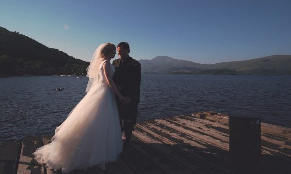 Geri & Ross Lodge on Loch Lomond Wedding Video