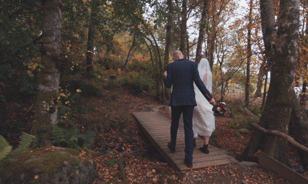 Comrie Croft Wedding Video Scotland - Barn Wedding Scotland - Amy Andrew