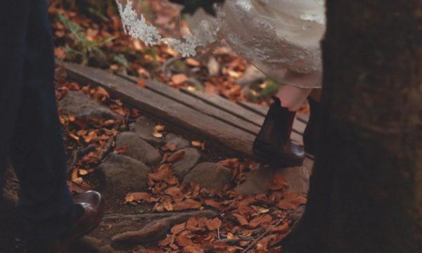 Comrie Croft Wedding Film Scotland - Forest Wedding Scotland - Amy Andrew