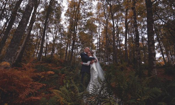 Comrie Croft Wedding Videographer Scotland - DIY Wedding Scotland - Amy Andrew