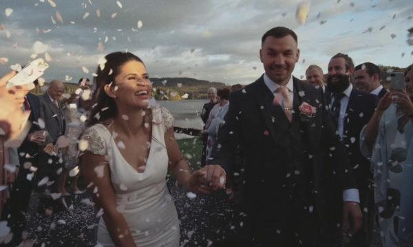 Kinlochard Village Hall Loch Ard Wedding Videographer