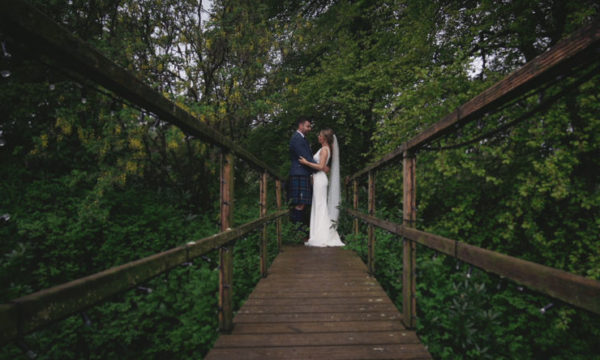 Logie House Wedding Videographer Aberdeenshire - Lisa & Tom