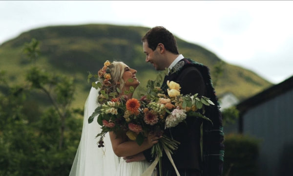 Knochraich Farm Wedding - DIY Wedding Scotland - Sophie & David
