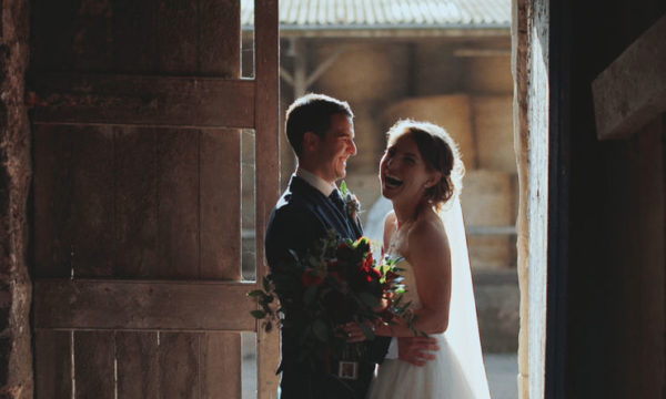 Bachilton Barn Alternative Wedding Videographer Scotland - Zander + Rachel - Eleven Six Films