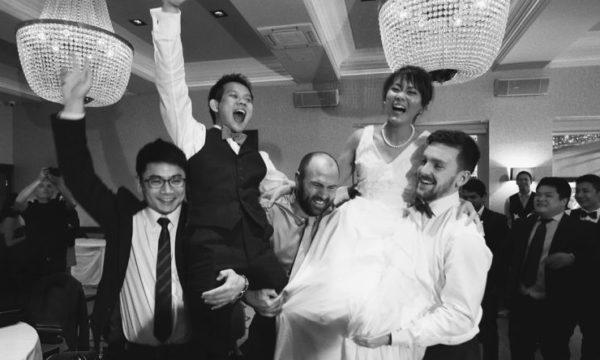 Boclair House Fun Wedding Videographer Glasgow Scotland - Justin & Crystal - Eleven Six Films
