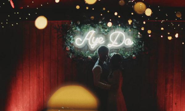 Byre at Inchyra Wedding Alternative Wedding Videographer Scotland UK - Louise & Simon - Eleven Six Films