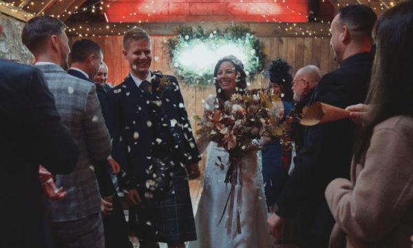 Byre at Inchyra Wedding Videographer Scotland - Louise & Simon - Eleven Six Films