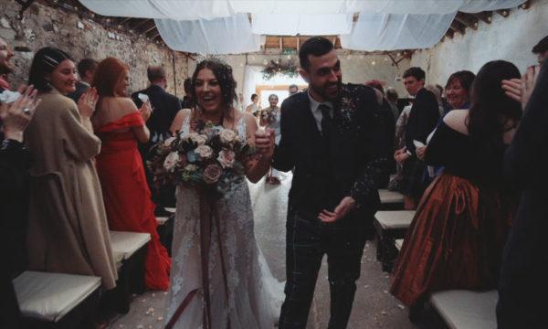 Harelaw Farm Alternative Wedding Videographer Scotland - Hayley & Sam - Eleven Six Films