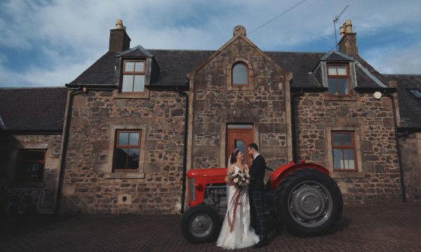 Harelaw Farm Alternative Wedding Videographer Scotland Hayley & Sam Featured - Eleven Six Films