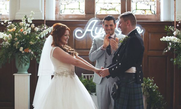 Pollokshields Burgh Hall Alternative Wedding Videograher Glasgow Scotland - Jenn Scott