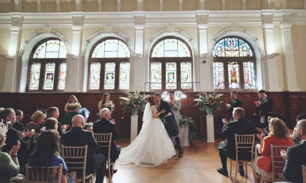 Pollokshields Burgh Hall Wedding Videograher Glasgow Scotland - Jenn Scott