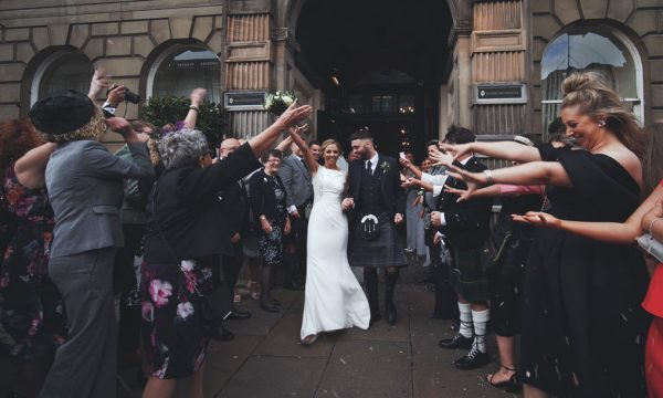 Principal Hotel InterContinental Edinburgh Wedding Videographer Scotland - Kirsten Ryan