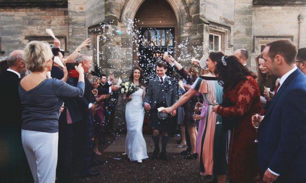 Winton Castle Alternative Wedding Videographer Edinburgh Scotland - Mark Abi